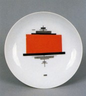 Plate with Suprematist Motif