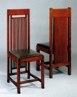 Chairs Designed for the Isabel Roberts House and Francis W. Little House