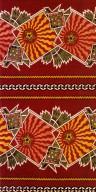 Decorative Cotton Print with Stars