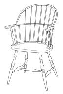 Windsor Sack Back Armchair