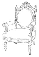 Louis XVI Revival Armchair