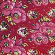Pink Floral Cotton Print