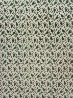 Green Abstract Cotton Print