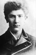 Portrait of Leon Bakst at 17