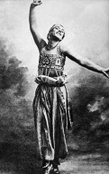 Nyjinsky as the Golden Slave