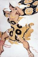 Costume Design for Nijinsky as Narcisse