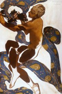 Costume Design for Nijinsky as the Faun
