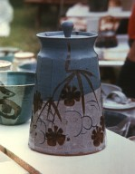 Contemporary Covered Jar