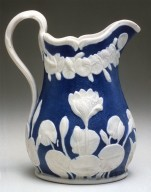 Parian Ware Pitcher