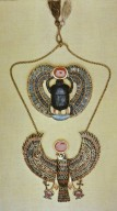 Scarab and Falcon Pendants