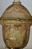Pot with Scene of Women Bathing