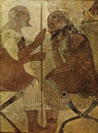 Etruscan Wall Painting