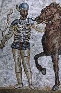 Circus Charioteer Mosaic
