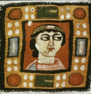 Portrait of a Woman Textile Fragemnt