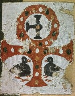 Textile Fragment with Coptic Crosses
