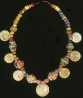 Necklace with Gold Coins