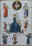 Saint Cecilia and Musicians