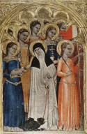Predella Panel of Saint Lucy with Saints