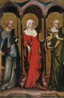 Saint Catherine of Alexandria, Saint Mary Magdalene and Saint Margaret of Antioch