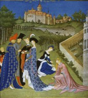 Tres Riches Heures du Duc de Berry: April