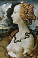 Simonetta Vespucci as Cleopatra