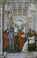 Pope Sixtus IV Appointing Bartolomeo Sacchi, Called Platina, the Prefect of the Vatican Library