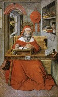 Saint Jerome in his Study