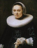 Portrait of a Lady Holding a Glove