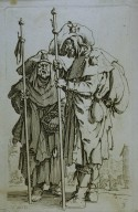 Two Pilgrims, from The Beggars