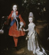 Prince James Francis Edward Stuart and Princess Louisa Maria Theresa Stuart