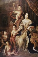 Madame de Montespan and Her Children