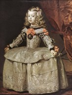 Infanta Margarita Teresa in White Dress