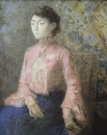 Portrait de Mademoiselle Jeanne Cha¿ne