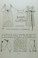 Illustration of Negligees and Step-In Lingerie from Gazette du Bon Ton