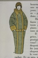 Illustration of Jacket from Gazette du Bon Ton