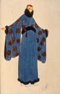 Evening Robe for Henri Bendel