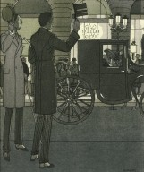 Illustration of Afternoon Wear for Men from La Gazette du Bon Ton