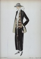 Illustration of a Casual Suit from La Gazette du Bon Genre