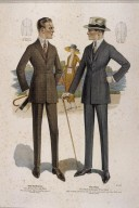 Illustration of Suits from the Majestic Tailors Catalogue