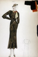 Crepe Dress from the Davidow Collection