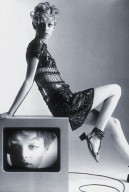 Twiggy from Harper's Bazaar