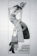 Joseph Magnin Advertisement for Maxi Skirt