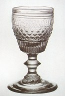 Blown 3-Mold Wine Glass