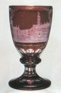Red-Stained and Engraved Goblet