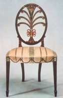 Oval-Back Side Chair