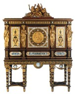 Marie Antoinette ¿Serre-Bijoux¿ Cabinet