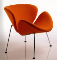 Orange Slice Armchair