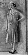 Silk Crepe Day Dress