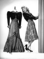 Mary Martin with a Dressmaker's Dummy