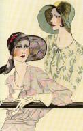 Les Chapeaux de la Femme Chic